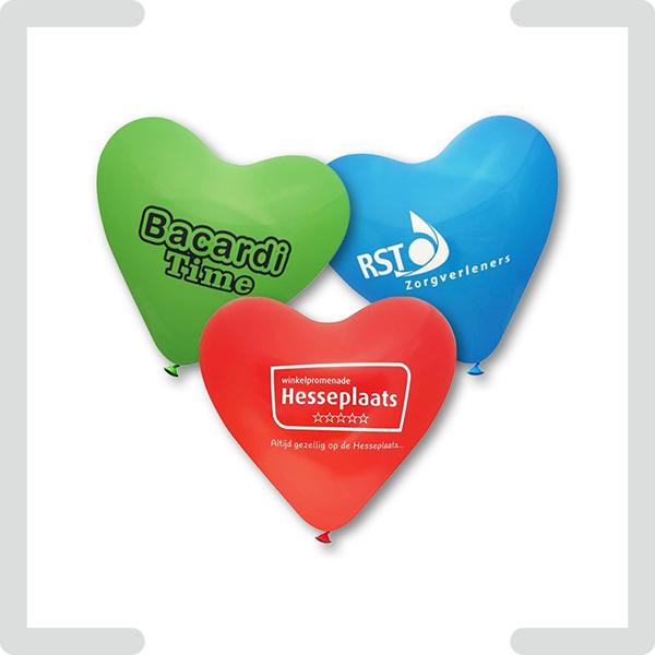 Fahnen & Ballons mit Logo