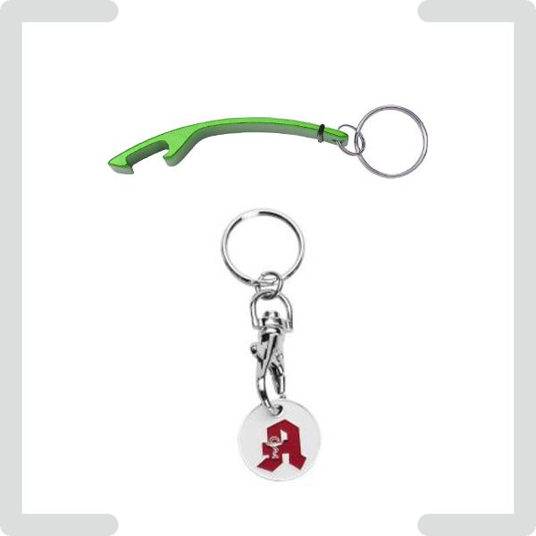Schlüsselanhänger als Werbegeschenke mit Logo