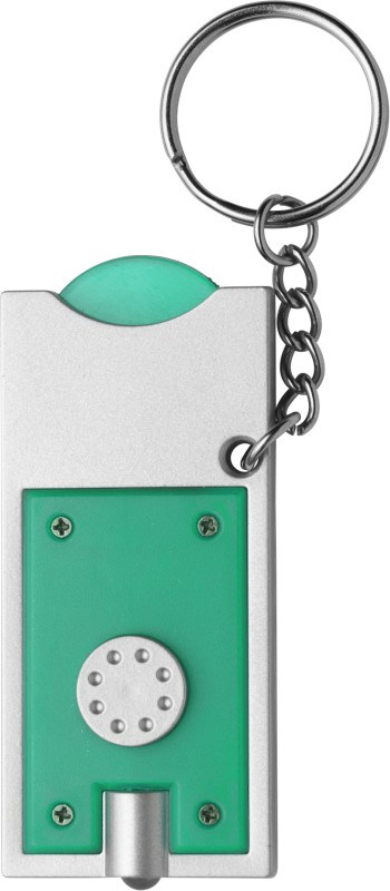 Schlüsselanhänger 'Spotlight' aus Kunststoff
