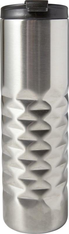 Thermobecher 'Diamond' aus Edelstahl