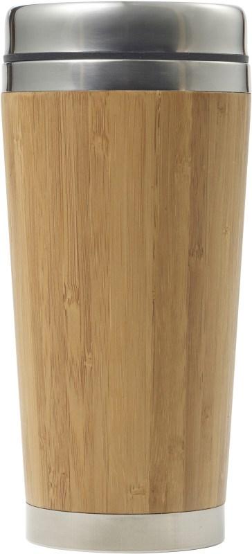 Doppelwandiger Isolierbecher 'Singapur' aus Bambus