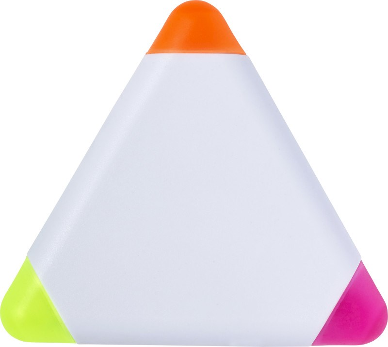 Textmarker 'Triangle' aus Kunststoff