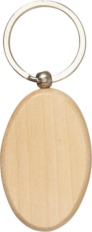 Schlüsselanhänger 'Woody 3' aus Holz