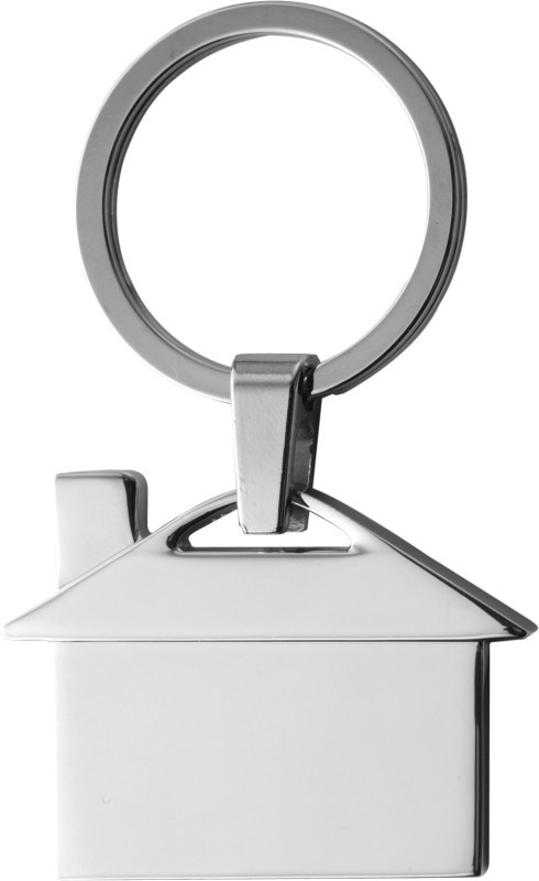 Schlüsselanhänger 'Villa' aus Metall