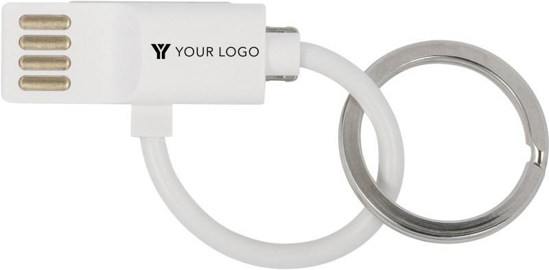 Ladekabel 'Thor' mit USB, USB-C, Lightning Anschluss aus Kunststoff