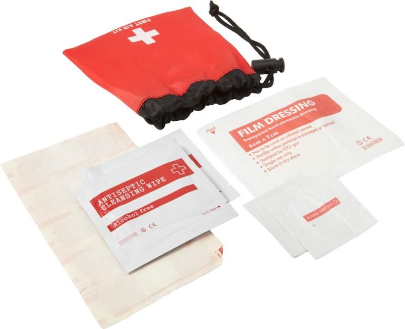 Notfall-Set 'Matchsack' aus Polyester