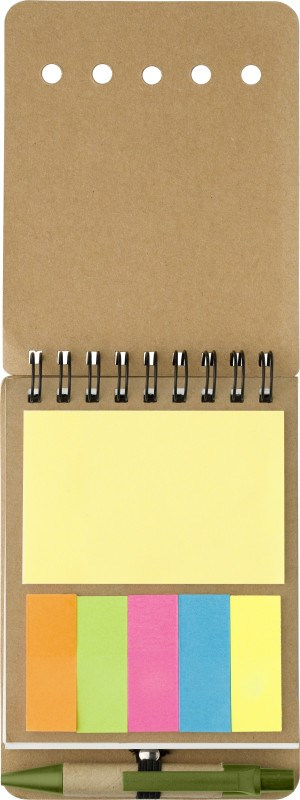 Notizbuch 'Premier' aus Karton