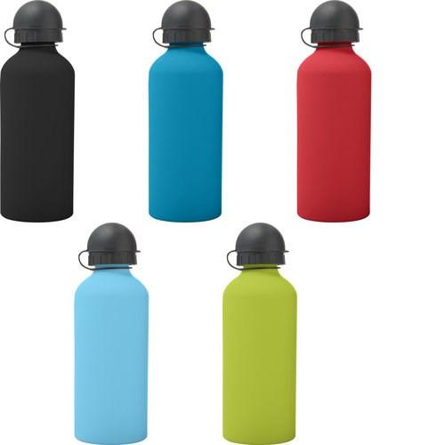 Trinkflasche 'Cap' aus Aluminium (600 ml)