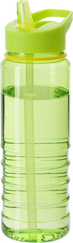 Wasserflasche 'Straw' aus transparentem Kunststoff (700 ml) [SALE 60%]