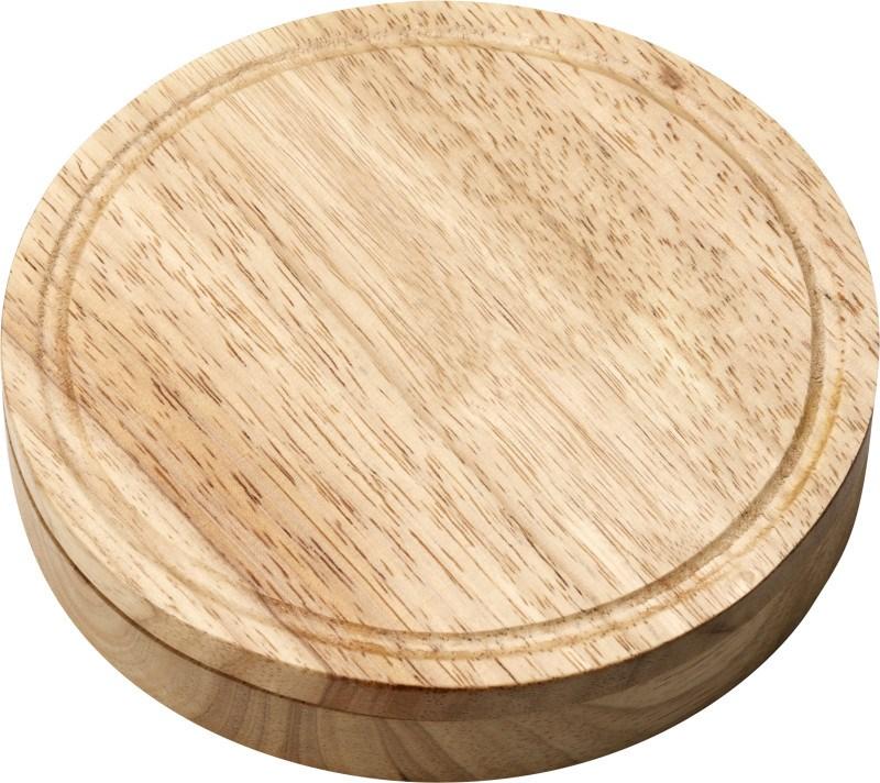 Käseset 'Chester' aus Holz