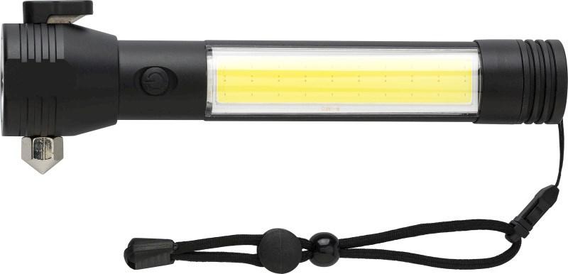 3-in-1 Taschenlampe 'Scott' aus Aluminium