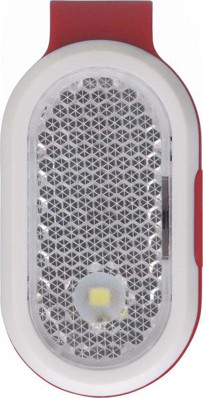 Reflektor Licht 'Clip' aus Kunststoff, mit Clip