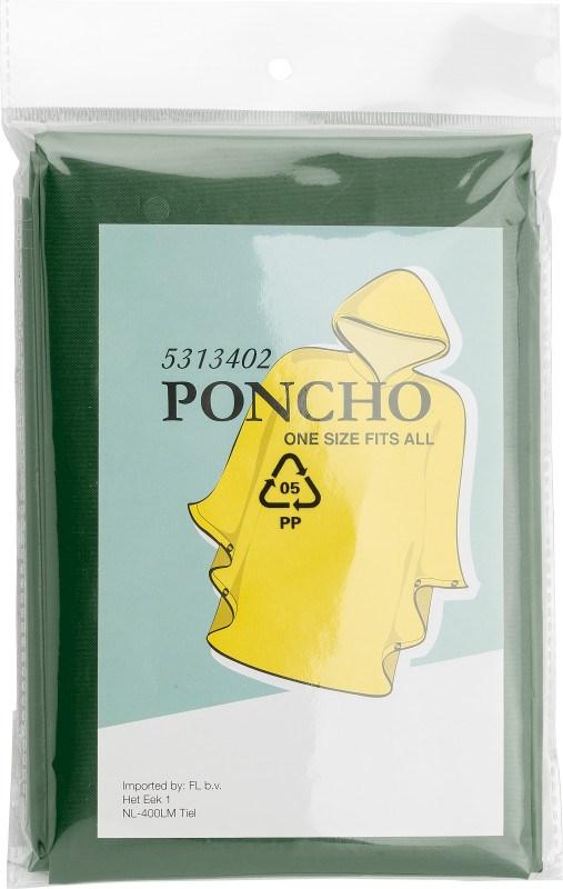 Poncho 'Wet' aus PEVA