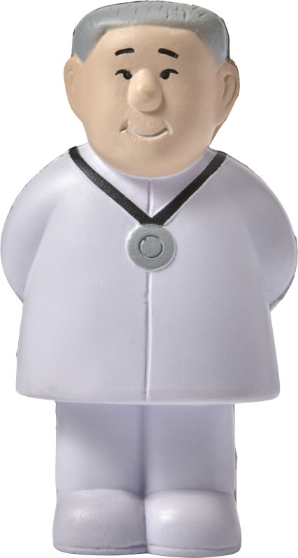 Anti-Stress Figur 'Doc' aus PU-Schaum