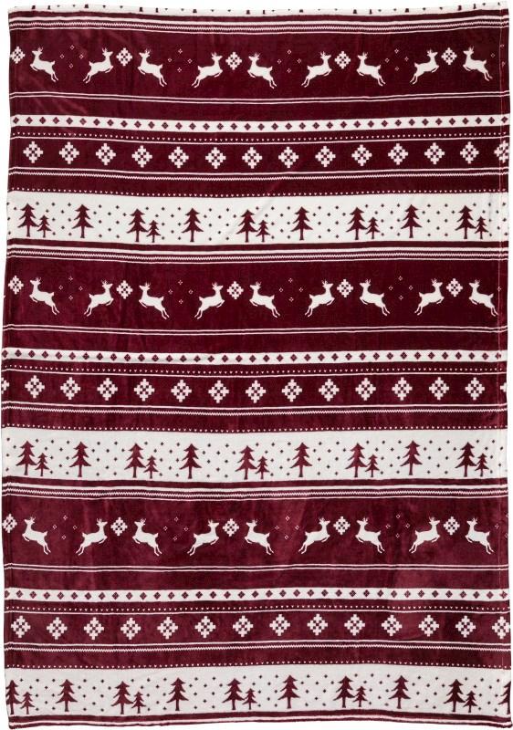 Decke 'Cuddle' aus 100% Polyester und Flanell