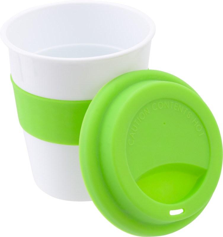 Trinkbecher 'Soft' aus Kunststoff