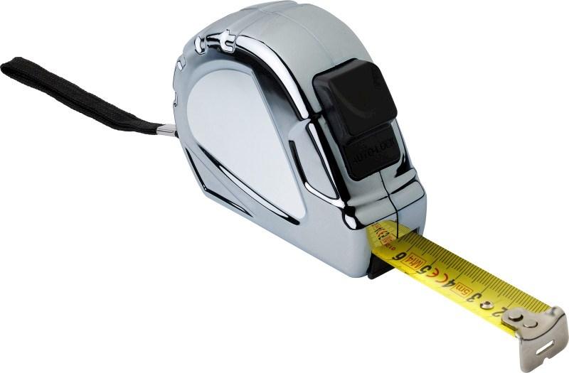Maßband 'Silver Mouse' aus Kunststoff, 5m