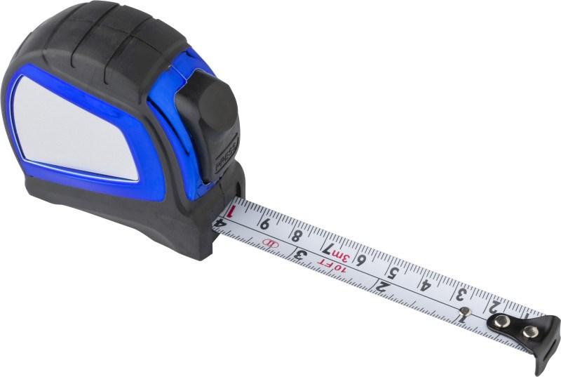 Maßband 'Blue Winder' aus Kunststoff