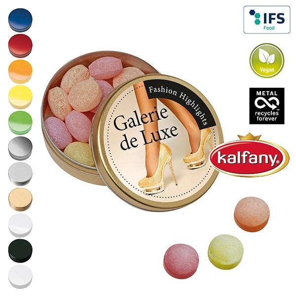 XS-Taschendose mit XS-Kalfany-Fruchtbonbons