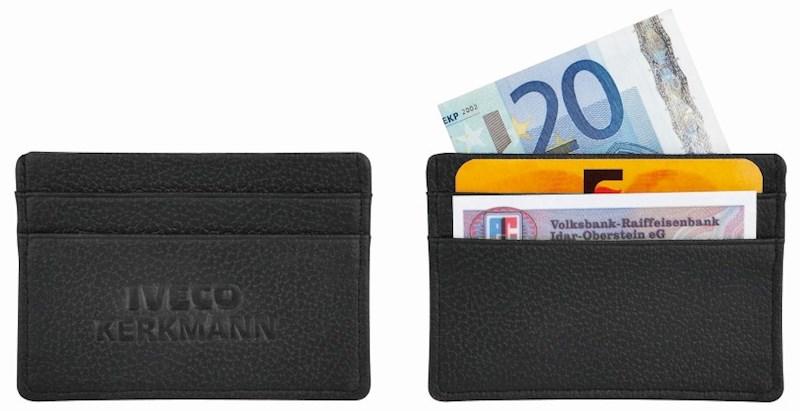 """Kreditkartenetui """"LookPlusDeluxe"""" schwarz"""