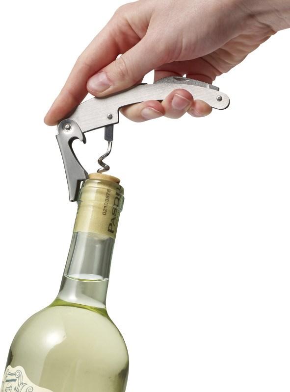 2-teiliges Sommelierset 'Rioja' aus Edelstahl