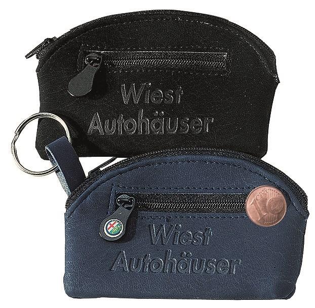 """CreativDesign Schlüsseltasche """"Curve Label"""" schwarz"""