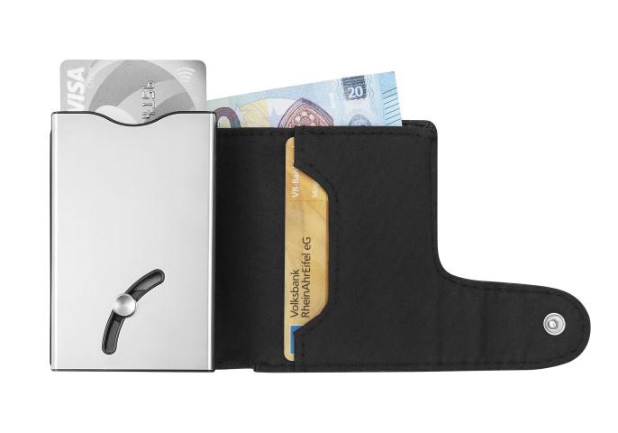 """Geldbörse """"IWalletDeLuxeDuo"""" schwarz"""