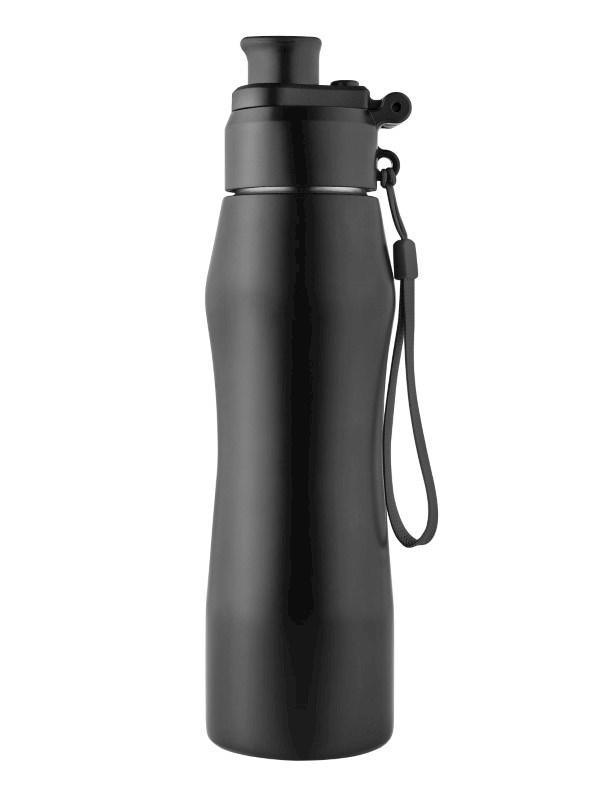 """Wasserflasche """"GenerationRefill"""" schwarz"""