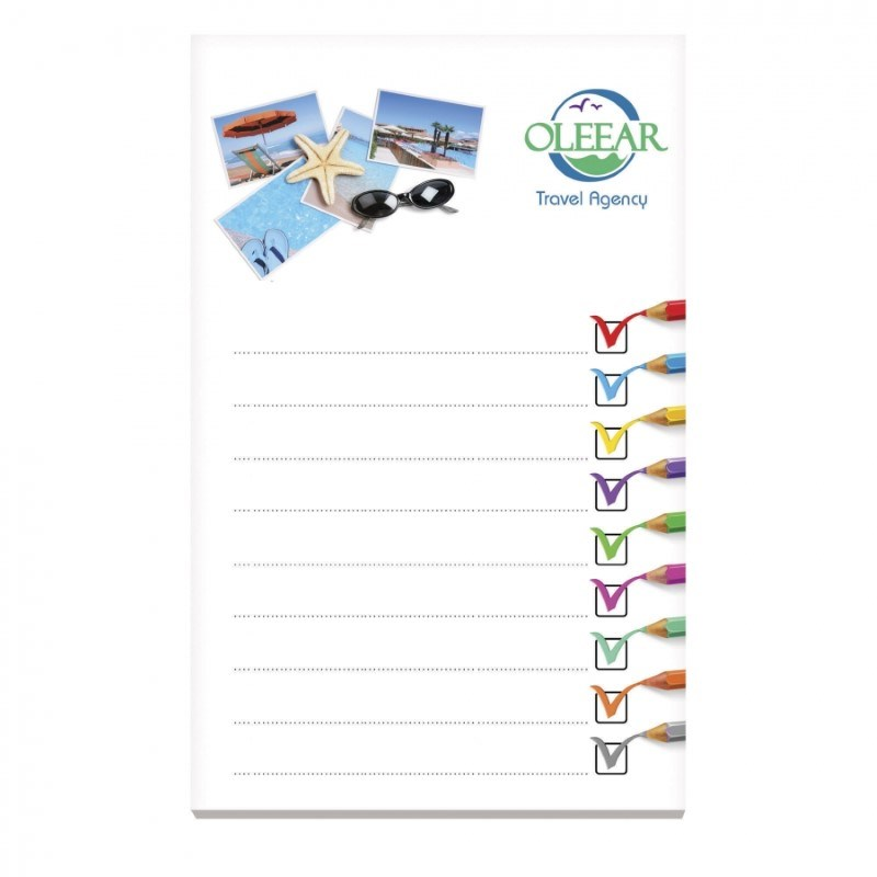® 101 mm x 152 mm 100 Blatt Adhesive Notepads