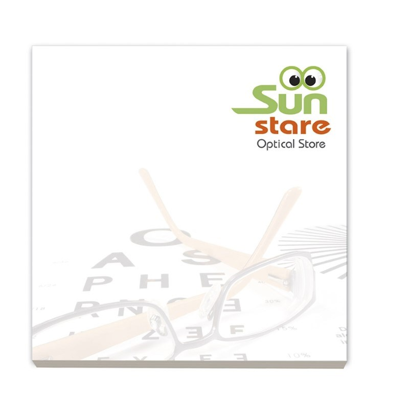 ® 75 mm x 75 mm 50 Blatt Adhesive Notepads Ecolutions®