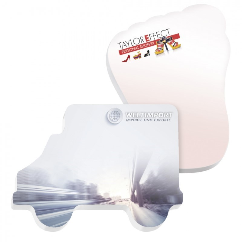 ® 101 mm x 75 mm 100 Blatt Adhesive Die Cut Notepads Ecolutions®