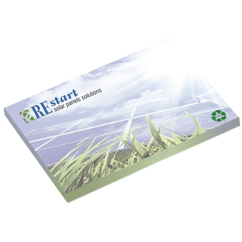 ® 101 mm x 75 mm 50 Blatt Adhesive Notepads Ecolutions®