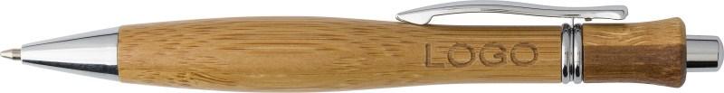 Kugelschreiber 'Montana' aus Bambus