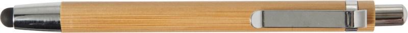 Touch-Kugelschreiber 'Liam' aus Bambus