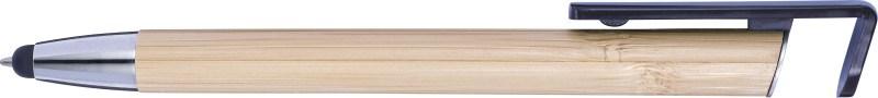 Bambus Kugelschreiber 'Sumatra' mit Touchfunktion