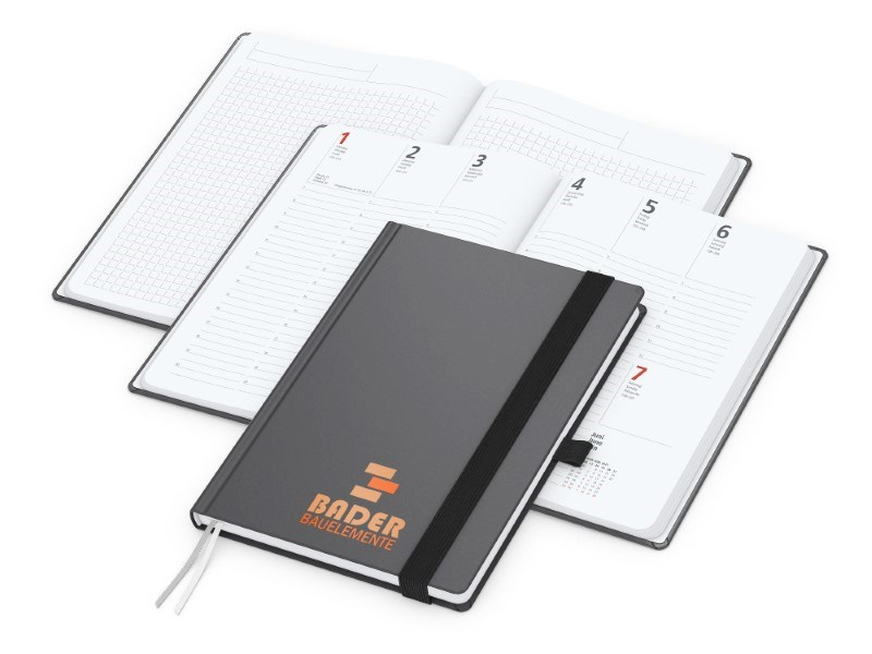 Wochentimer Vision-Hybrid A5 Bestseller, Siebdruck-Digital