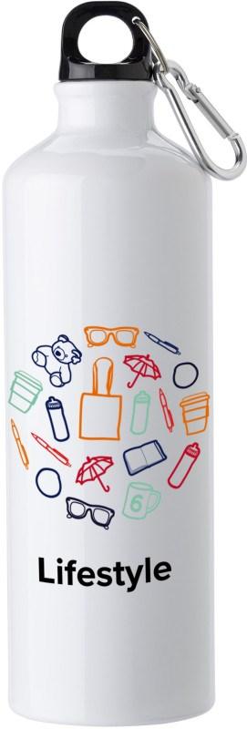Trinkflasche aus Alluminium (750 ml)