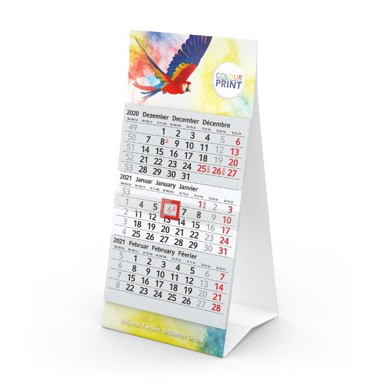 Tischkalender Mini 3 bestseller