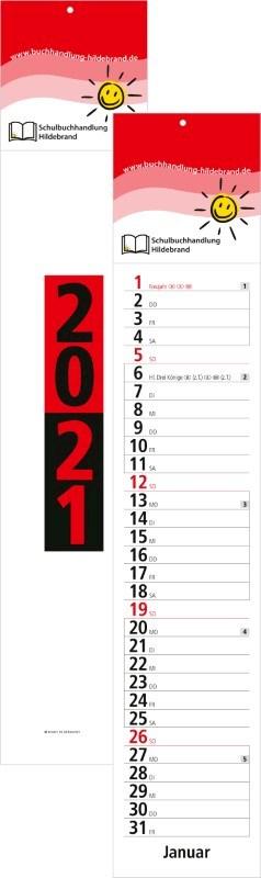 Streifenkalender Trend bestseller