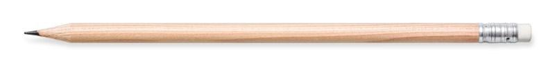 Bleistift, natur, mit Radiertip