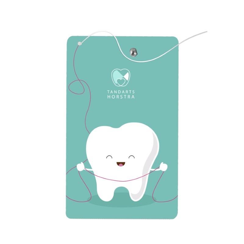 Zahnseidenkarte