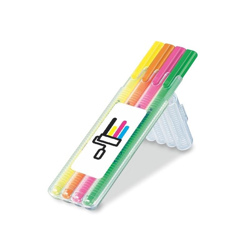 triplus textsurfer, Box mit 4 Stiften