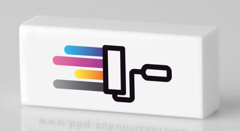 Radierer, rechteckig Digitaldruck