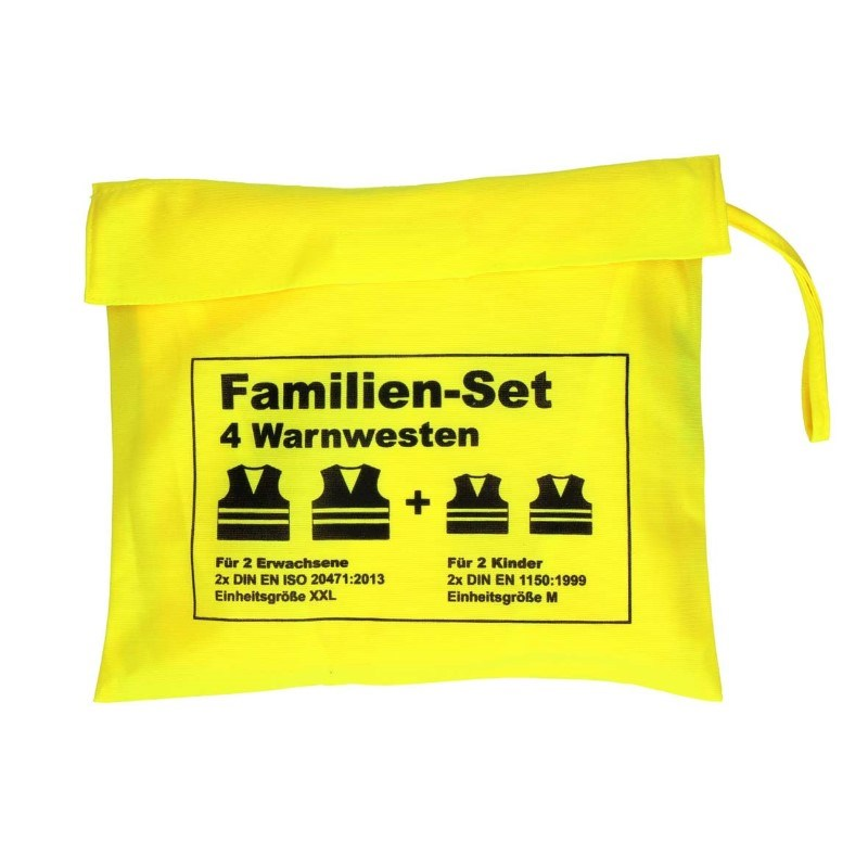 "Warnwesten-Set ""Family"""