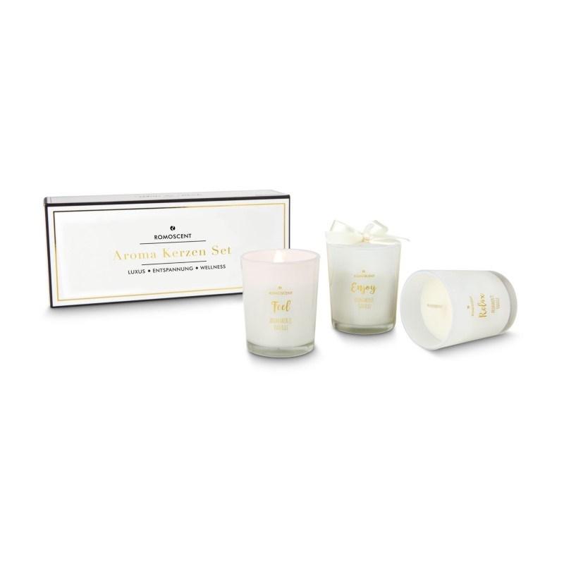 ROMOSCENT® Aromakerzenset Vanille