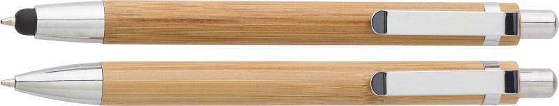 Kugelschreiber-Set 'Bamboo' aus Bambus