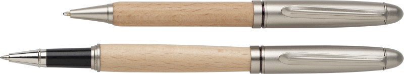 Schreibset aus Bambus