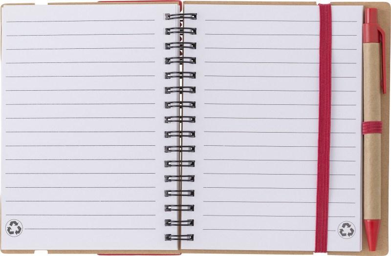 Notizbuch 'Layer' aus Karton