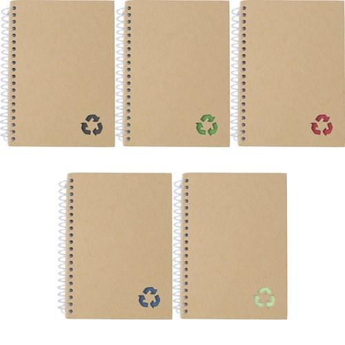 Notizbuch 'Ring' aus Papier