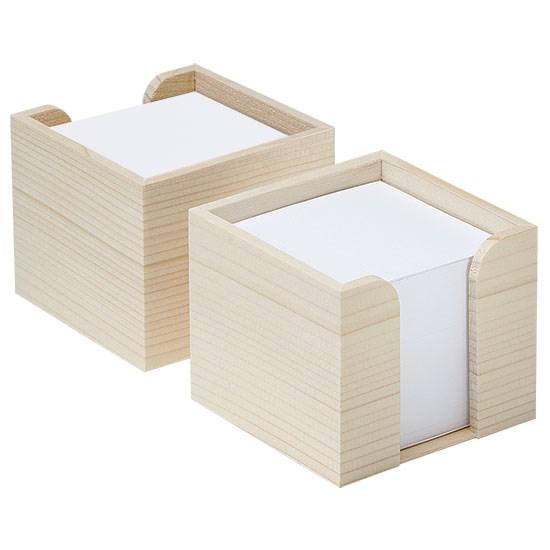 Zettelbox, Holz